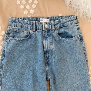 Zara High Waist Mom Jeans